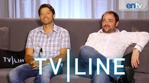 supernatural stars interview comic con 2013 tvline supernatural stars interview comic con 2013 tvline