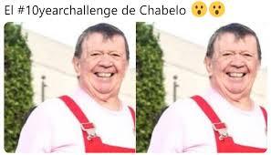 Resultado de imagen para memes ten years challenge