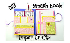 diy paper crafts how to make a smash book slim birthday gift idea giulia s art present thoughts