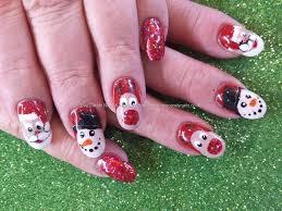 Christmas Nail Designs 2013 Christmas Freehand Nail Art Nailart Nails Taken At 17 12