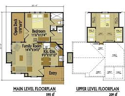 Tiny House Plans With Loft Archives  Small Wooden House Plans Micro Cottage Plans