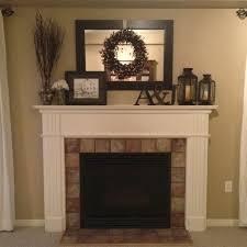 Decorative Fireplace Surrounds Best 25 Fireplace Mantel Decorations Ideas  On Pinterest Fire