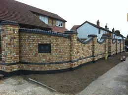 Small Picture Front Garden Brick Wall Designs Home Design
