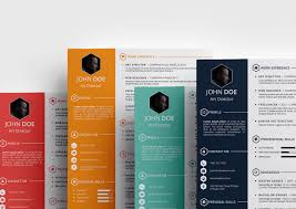 Creative Resume Templates Microsoft Word In Astounding Visual