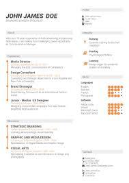 What Is A Cv Template Cv Template Free Online Cv Builder Best Cv Templates