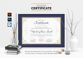 School Certificate Templates Fascinating 48 Best Certificate Templates 48