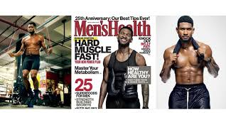 ushers dishes on fitness routine with