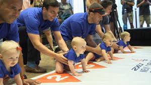 Babies Crawl Across Finish Line in New York