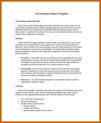 Executive Summary Report Format Template Word Test In – Bonsho