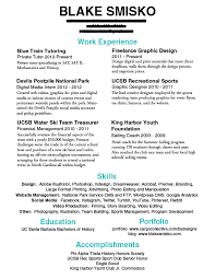 ... Resumes That Work 2 Ingenious Idea 10 And Portfolios Blake Smisko  Examples Of Work Resumes ...