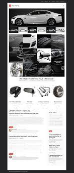 Auto Parts Responsive Wordpress Theme 55453