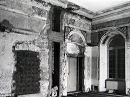 Abb 181 Blauer Saal Balken Waren An Der Unterseite Mit Brettern