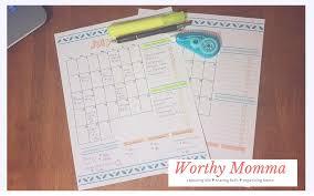 Bi-Weekly Budget Planner - Worthy Momma