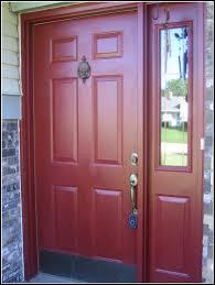 interior diy paint front door before painting process doors beautiful metal entry hardware upvc red
