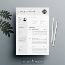 Resume Template and Cover Letter Template for Word   DIY Printable   Pack   The  quot Moonlight quot    Professional and Creative Design Plus Pinterest
