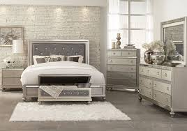 Aurora Champagne 5 PC Queen Bedroom Badcock Home Furniture