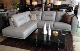 gray leather couch. Attractive Gray Leather Sectional With Com Design 4 Zazoulounge Regarding Plan 16 Couch N