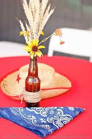 Rustic Rehearsal Dinners  Rustic Wedding ChicCountry Style Table Centerpieces