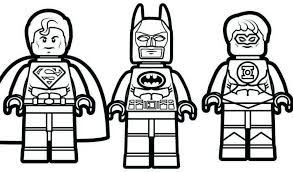 Elegant Lego Bad Guys Coloring Pages Exadme