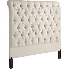 audrey ii upholstered flax king headboard  pier  imports