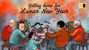 Getting home for Lunar New Year - YouTube