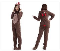 Aliexpress.com : Buy Christmas Deer Fleece Cotton Adult Unisex ...