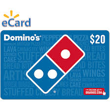 Domino's Pizza $20 Gift Card (email Delivery) - Walmart.com ...