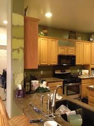 amazing ideas kitchen paint colors with honey oak cabinets best color