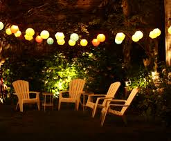 outside lighting ideas for parties. image of outdoor lighting on summer night outside ideas for parties