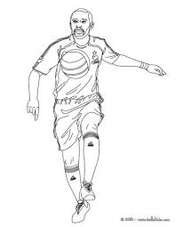 Small Picture David beckham playing soccer coloring pages Hellokidscom