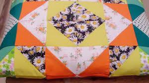 Make Bright Patchwork Pillow - DIY Home - Guidecentral - YouTube &  Adamdwight.com