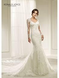 ronald joyce 69217 hilaria beautiful lace slim fitting wedding dress