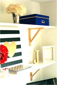 wall shelves for office. Office Floating Shelves Contrast Your White Wall For