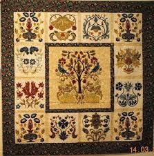 176 best William Morris Quilts images on Pinterest   Appliqué ... & William Morris in Quilting: Quilt Gallery Adamdwight.com