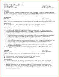 Accounting Resume Experience Fresh Accounting Experience Resume