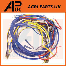 fordson dexta tractor wiring harness loom see wiring diagram ebay Wiring Harness Diagram Agri Services Wiring Harness #24