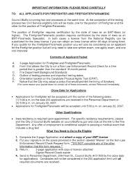 Fire Fighter Resume Example For Free Paramedic Resume Templates Best