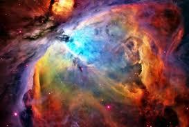 colorful galaxy space. Fine Space Orion Nebula Space Galaxy  Colorful Space Blues Reds Oranges On Colorful E