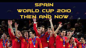 สเปนชุดแชมป์โลก 2010 มีใครกันบ้าง - Spain 2010 - THEN and Now - YouTube
