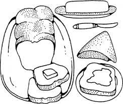 パンとバター クリップアート ベクター クリップ アート 無料ベクター