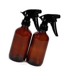vivaplex 2 large 8 oz empty amber glass spray bottles w