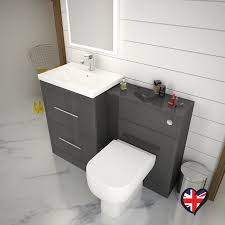 bathroom toilet and sink cabinets. patello 1200 bathroom furniture set grey straight contemporary toilet and sink cabinets o
