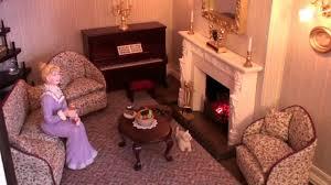 A Georgian Dolls House YouTube - Dolls house interior