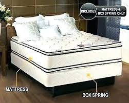 King Bed Frame Queen Mattress And Set Firm Cal Size With Included ...