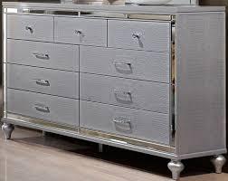 Walmart Dressers with Mirror  6 Drawer Dresser Walmart  Silver Dresser