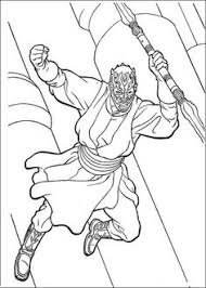 darth maul from the clone wars coloring page from the phantom menace select from 28436 printable crafts of cartoons nature s