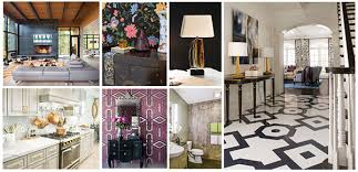 Small Picture The Top Interior Design Trends for 2016 From Geometric Patterns