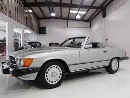 This mercedes convertible has its service records, owner history, manuals & original window sticker. 1987 Mercedes Benz 560sl Roadster For Sale Daniel Schmitt Co