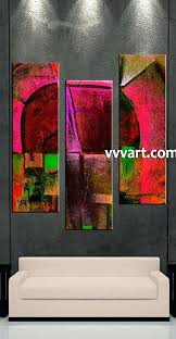 great three piece wall art new 3 multi panel abstract large canvas oil paintings huge multiple great three piece wall art