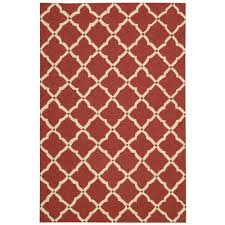 nourison portico red 8 ft x 11 ft indoor outdoor area rug